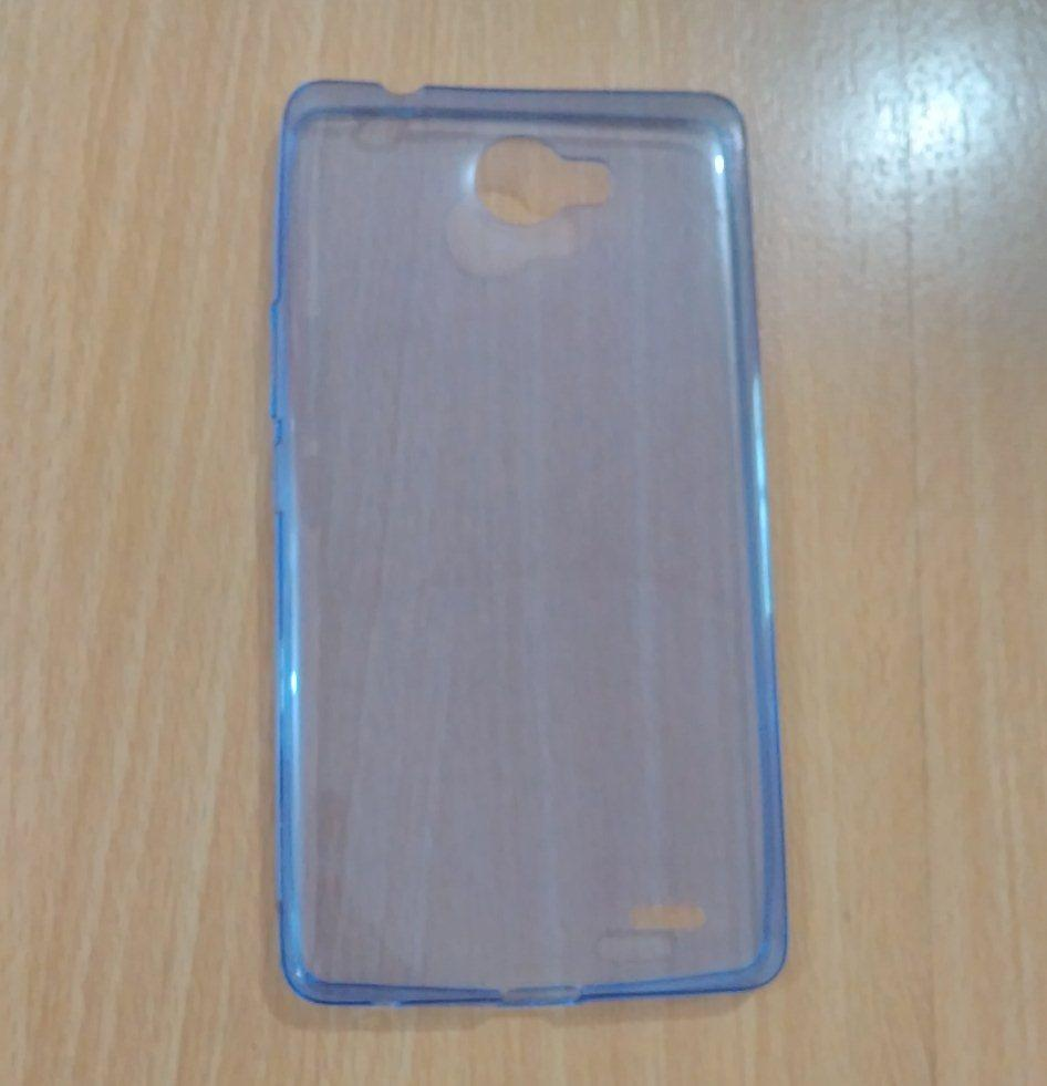 Case for Infinix Note 2 (X600) Ultra Thin Soft Jelly Transparan