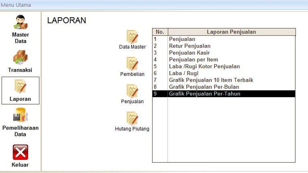 Detail Gambar Premium DVD Software Aplikasi Toko Dan Kasir V6 Full Version Terbaru