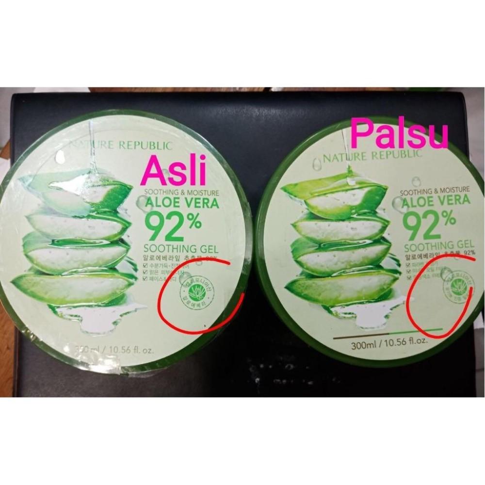 Cek Harga Baru Nature Republic Soothing Aloe Vera Gel 92 Bioaqua Original Korea 300ml