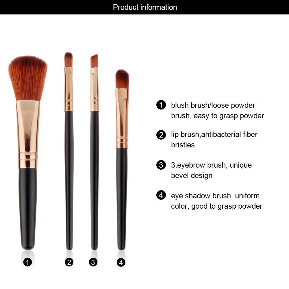Kelebihan Kuas Make Up Cosmetic Brush Set Isi 4 Pcs Kosmetik Hello Kitty Kaleng 7 Detail Gambar Makeup Murah Terbaru