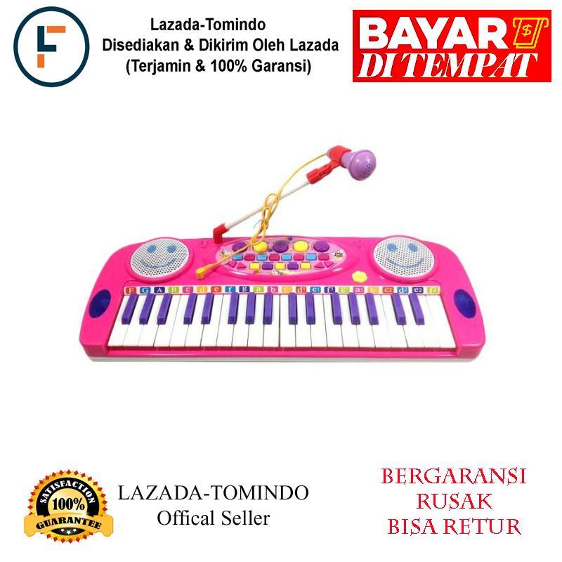 Tomindo Electronic Organ - Pink / mainan anak / mainan musik / mainan piano
