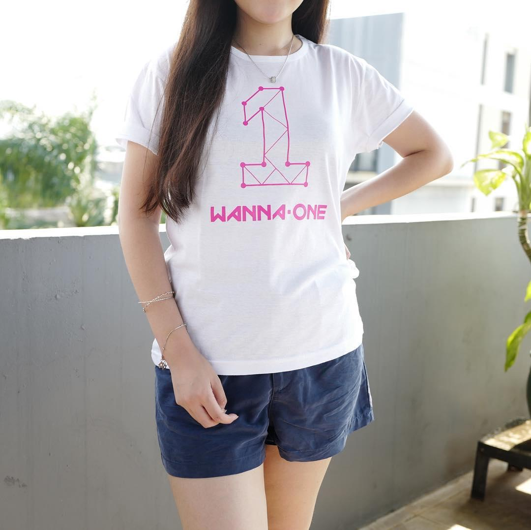 Kelebihan Ygtshirt T Shirt Baju Wanna One Tumblr Tee Cewek Kaos Wanita Tshirt Cewe Cotton Combad Kaos Oblong Perempuan Terkini Desember 2018