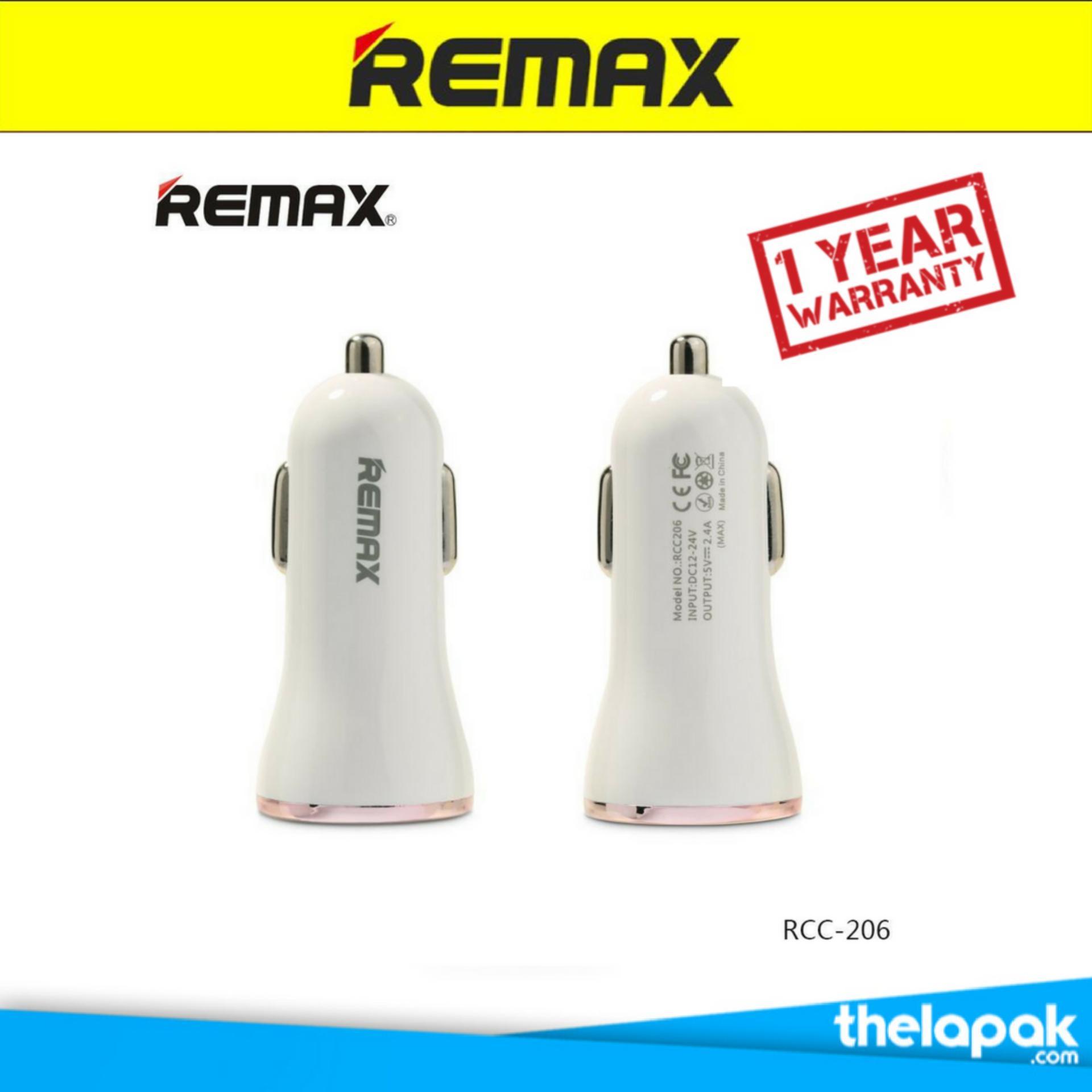 Beli Remax Car Charger Dolphin 3 Ports Usb 3 4A Remax Dengan Harga Terjangkau