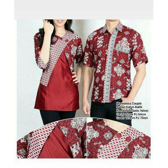 Miracle Couple Atasan Delisa Abaya Blouse Dan Kemeja Batik PriaIDR105900. Rp 105.900