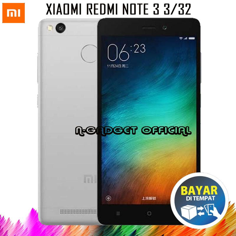Xiaomi Redmi Note 3 - Ram 3GB/32GB - ( B.Indonesia & Redy Playtore )