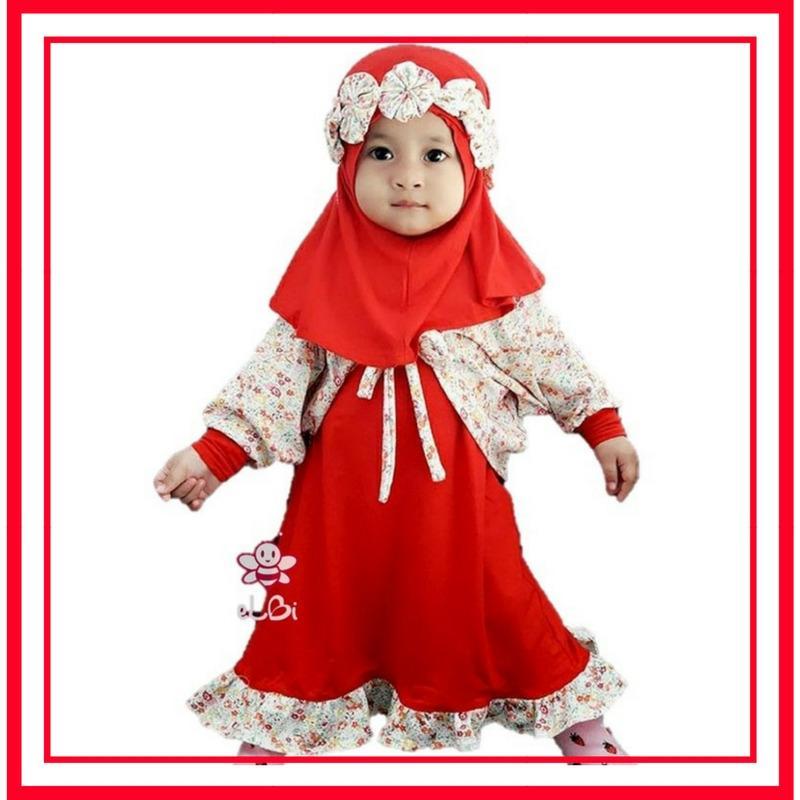 Harga Baju Busana Muslim Anak Perempuan Baju Busana Balita Perempuan Gamis Anak Termurah
