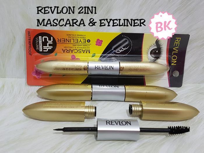 Revlon 2in1 Mascara Curly & Eyeliner Longlash Waterproof