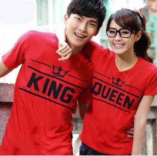 Baju Couple Kaos Couple Baju Pasangan Soulmate OB New King Queen T shirt Kapel Kopel Murah