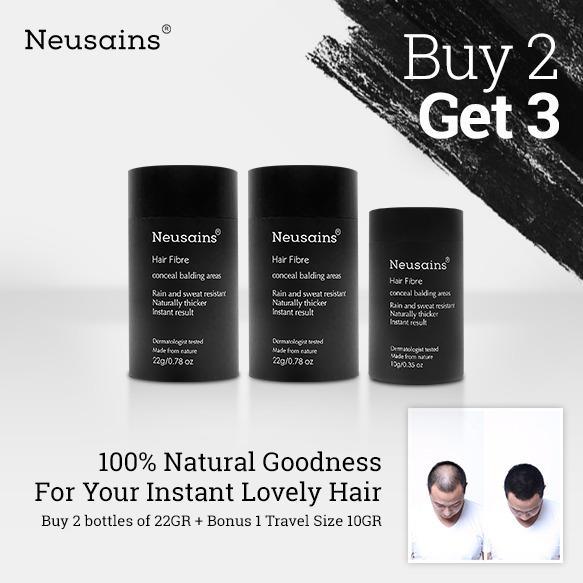 Harga Neusains Hair Fiber Penebal Rambut Instant Promo Buy 2 Get 3 Kebotakan Hair Tonic Kerastase Erha Terbaik