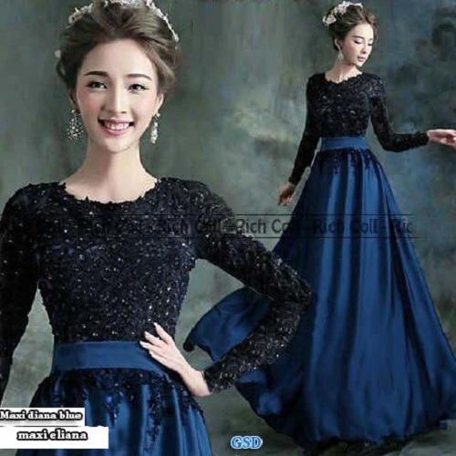 Grosir Dress-Baju Pesta/Dress Muslim/Maxi Dress Eliana