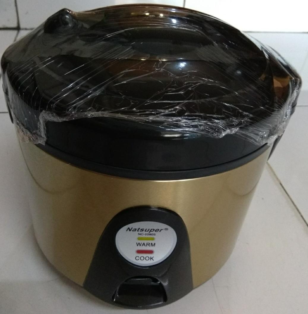 Rice Cooker Natsuper Magic Com Nc 1090s 1 Liter Review Harga Cmos 12l Crj10lj 1liter