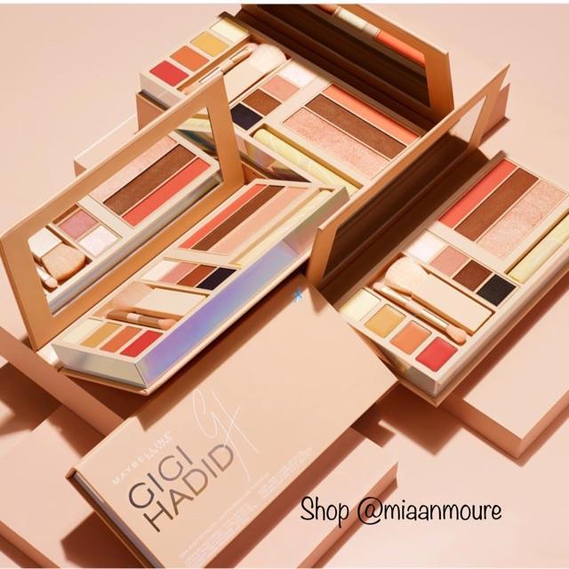 Maybelline x Gigi Hadid Palette Second, dicolek aja