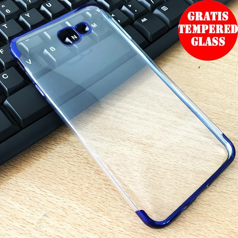SAMSUNG J7 PRIME Shiny Transparen Bening Ultra Thin TPU Soft Case
