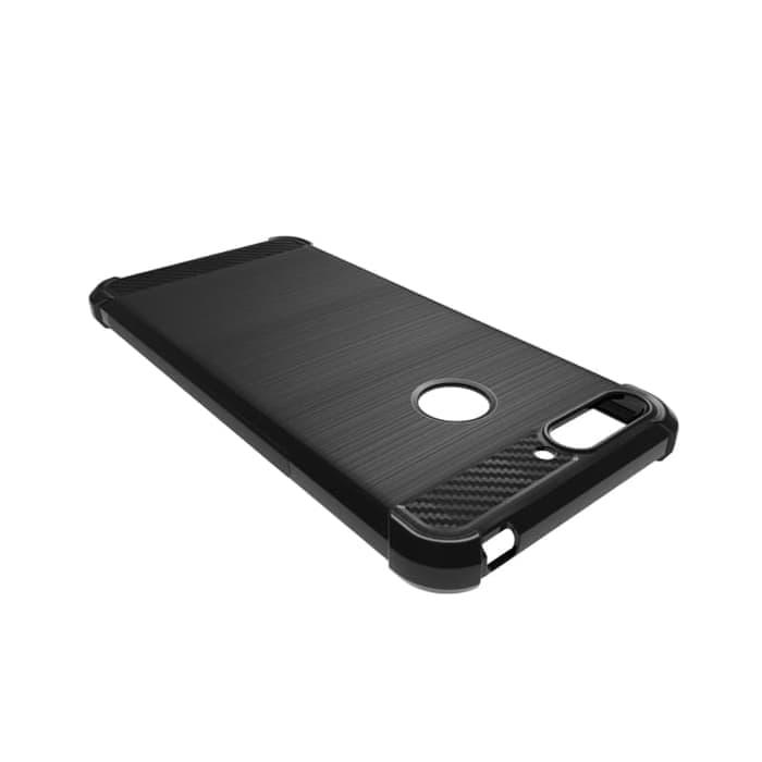 ... Case Huawei Honor 7A Carbon Brushed Soft Armor - Hitam - 5