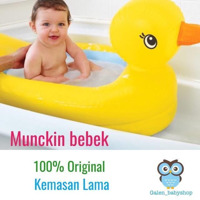 ... Munchkin Bebek Original Bak Mandi Anak Bayi Baby Tub Kolam Karet Bestway Variasi Kemasan Baru -
