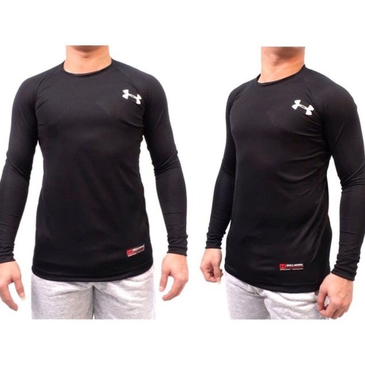 Cek Harga Baru Kaos Tshirt Manset Baselayer Under Armour Run Celana Original