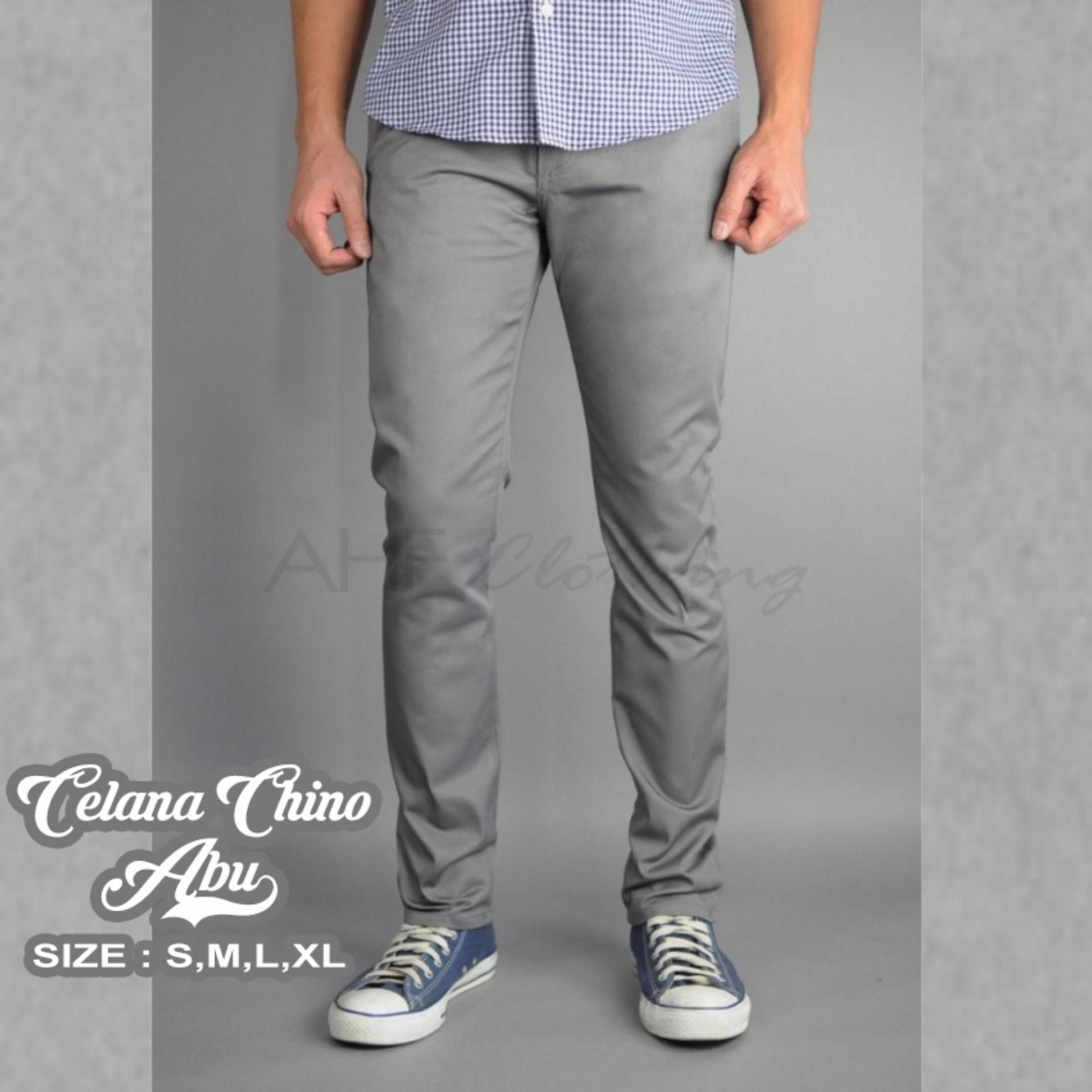 Cek Harga Baru Celana Panjang Jeans Cream Krem Khaki Royalvip Pria Formal Chino Wool Black Chinos Cowok Kremcream Hitam