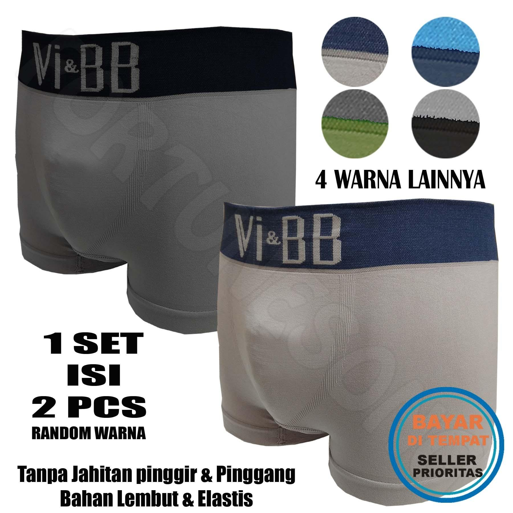 Promo Fs Fashion 2 Pcs Mens Underwear Celana Dalam Boxer Pria Premium Di Jawa Barat