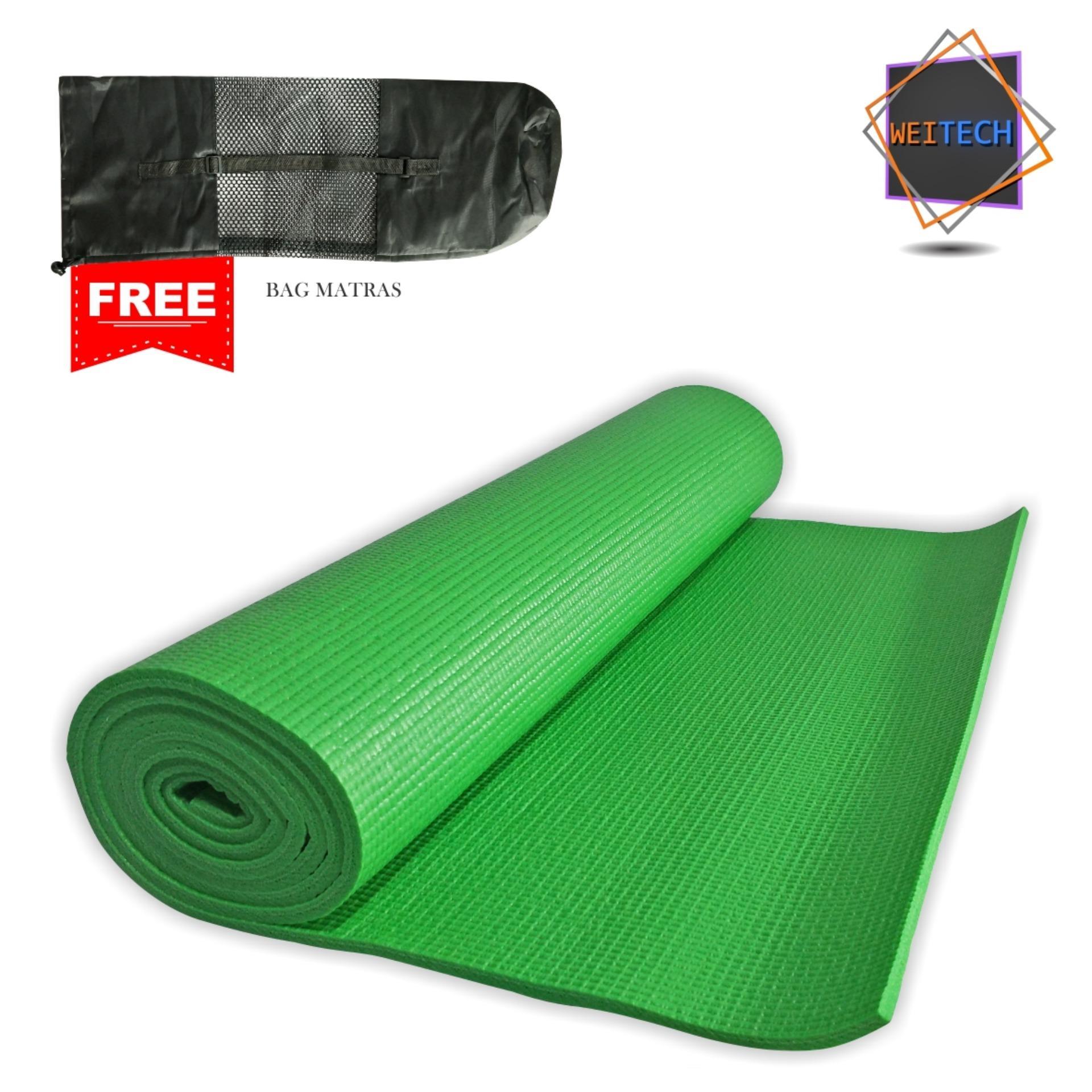 Diskon Weitech Matras Yoga 8 Mm Free Tas Jaring 1001