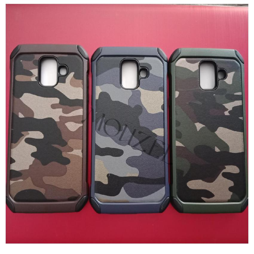Fitur Mouzel Softcase Case Army For Samsung Galaxy A6 2018 Dan Harga