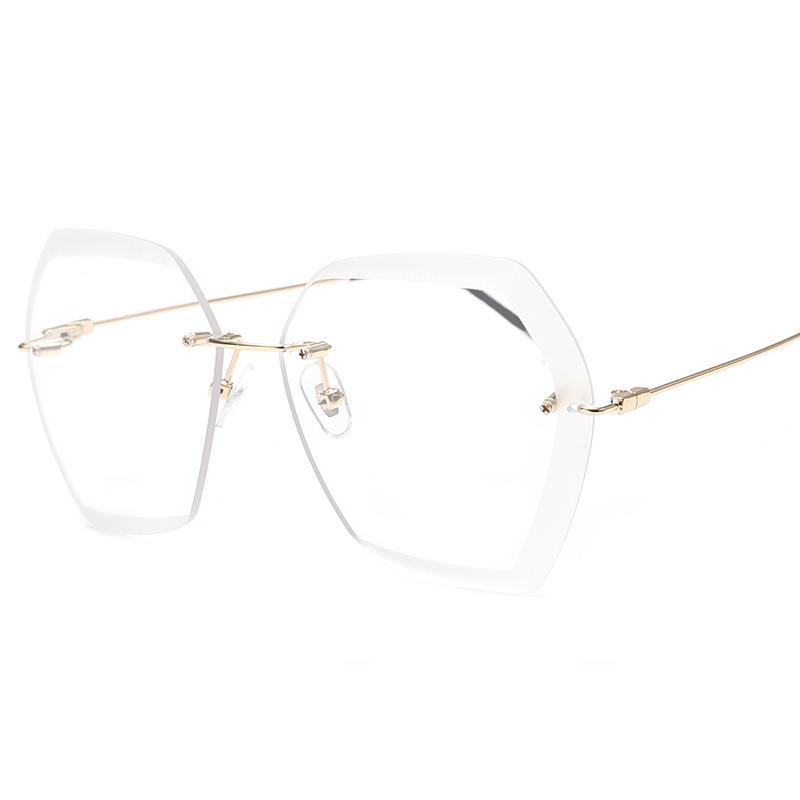 Elegan Kaca Mata Model Bintang Wanita Kacamata Hitam Baru