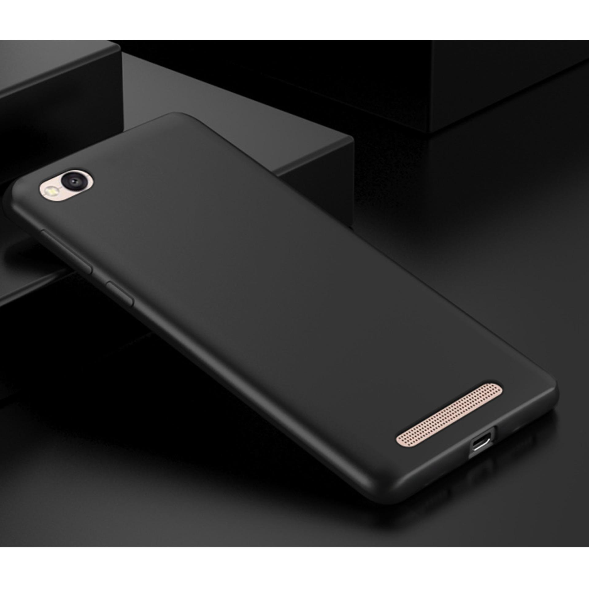 Case Slim Black Matte Xiaomi Redmi 5A Baby Skin Softcase Ultra Thin Jelly Silikon Babyskin - 2