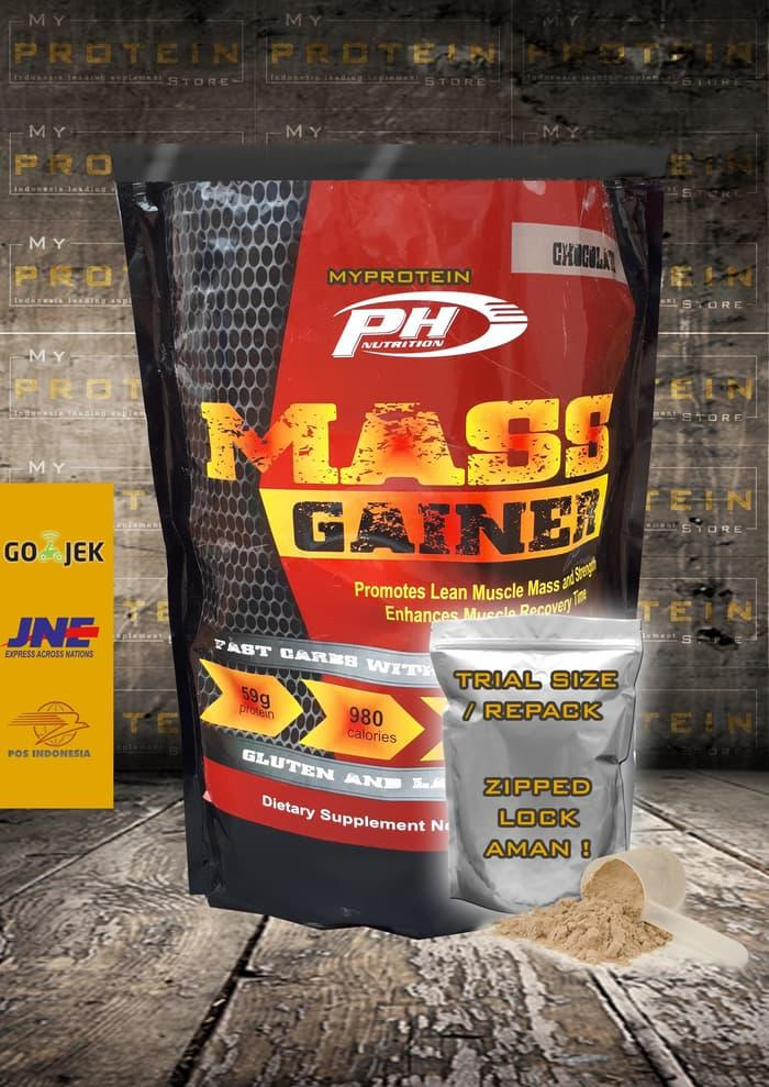 Ph Prohybrid Mass Gainer 1 Lbs Bpom & Halal Ecer Kualitas Serious