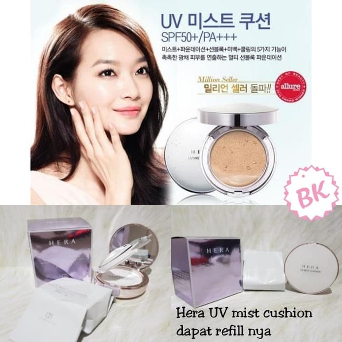 HERA UV MIST CUSHION SPF 50+/PA+++ BEDAK COMPACT POWDER HERA