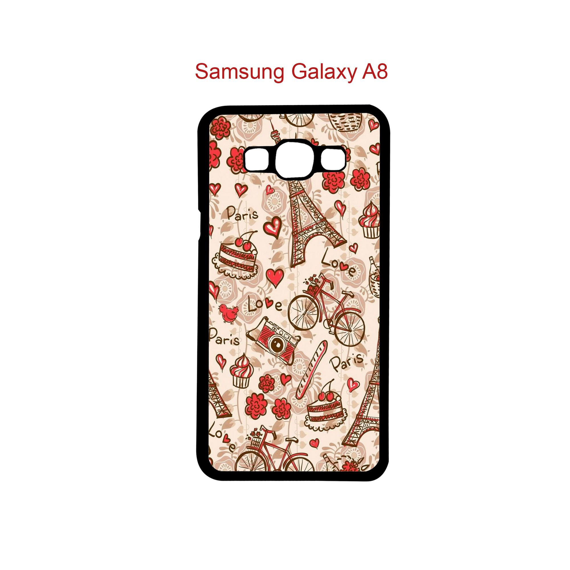 Case Fashion Printing Custom For Samsung Galaxy A8 - 31