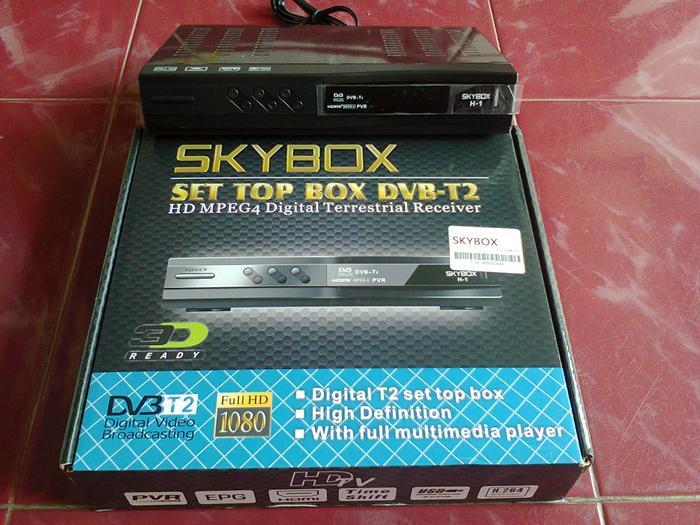 ORIGINAL - Set Top Box DVB-T2 merk Skybox with HDMI