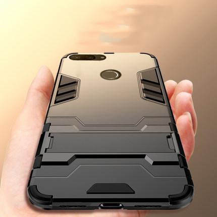 For Xiaomi Mi 8 Lite Hard PC Flexible TPU Slim Matte Case Premium Hybrid Armor Protective