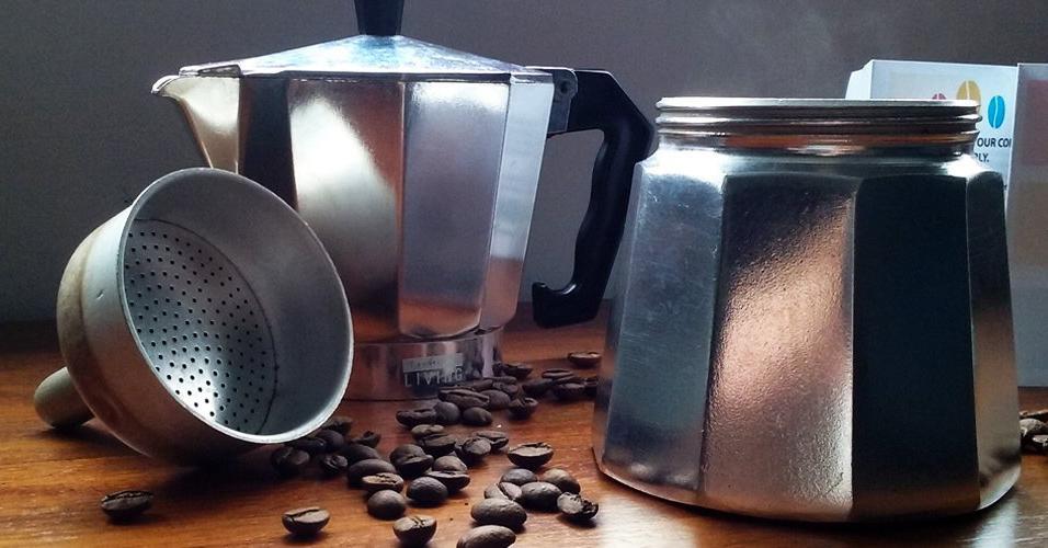 ... Mokapot Aluminium - Moka Pot - Original - 3 Cup - Coffee Maker - 4 ...