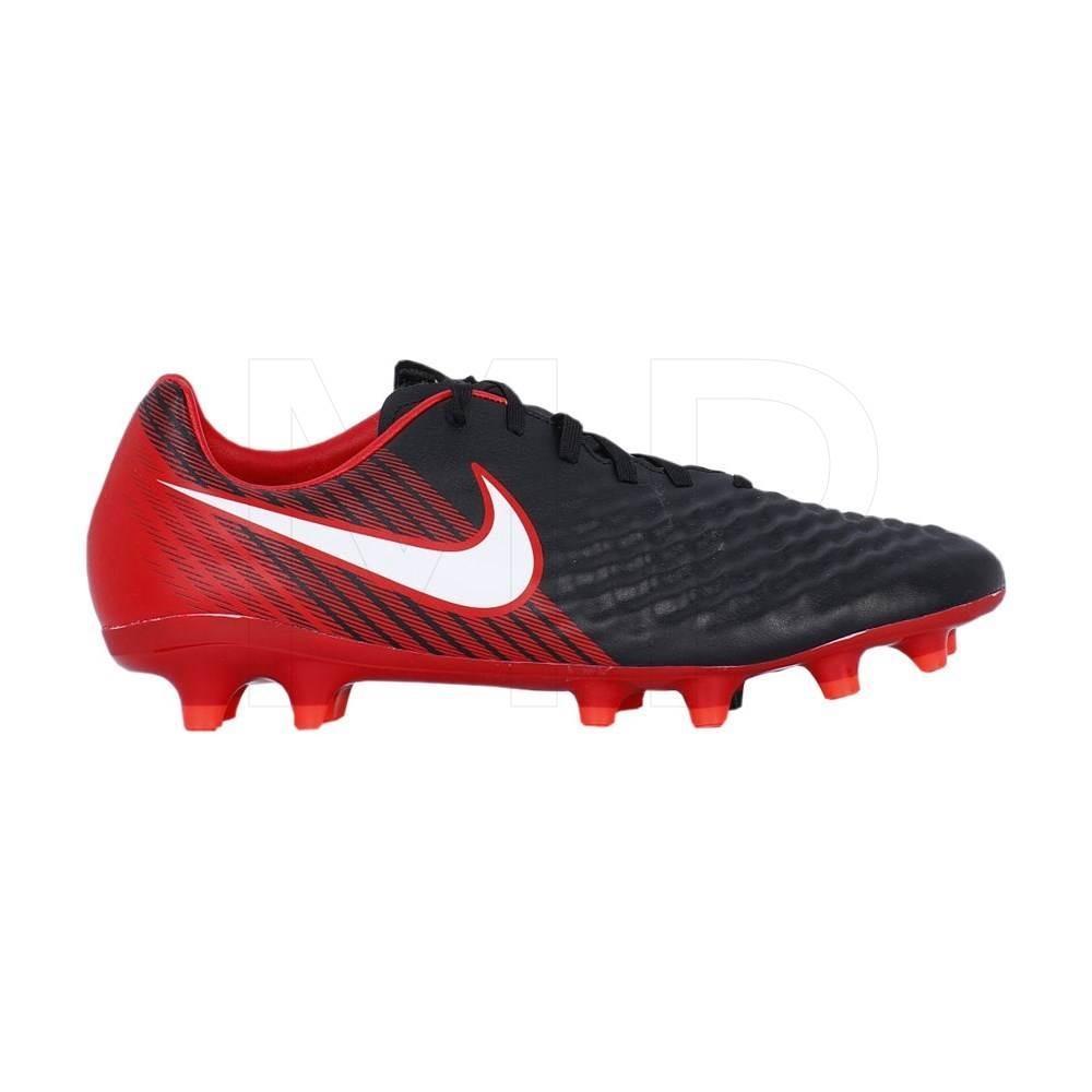 Sepatu Sepakbola Nike Magista Onda II FG 844411061 Hitam Merah Original