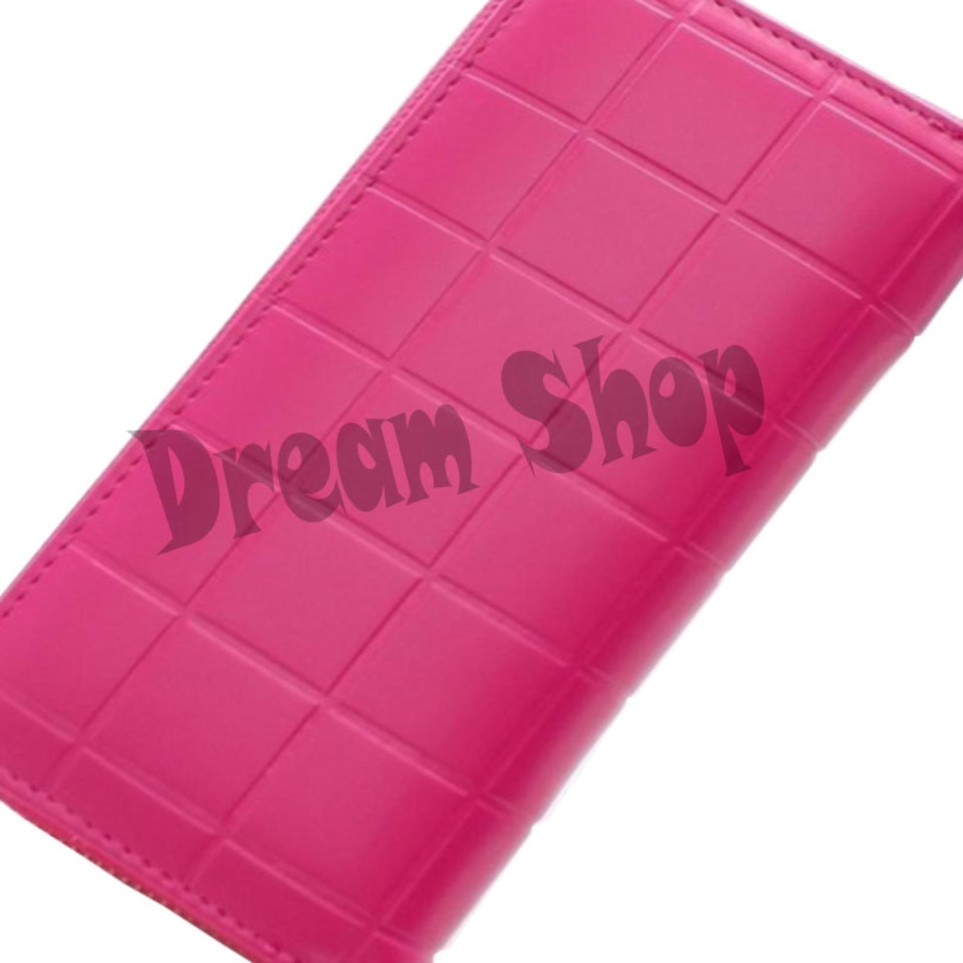 Dream Shop - Dompet Fashion Wanita - Oliver Wallet (PInk)