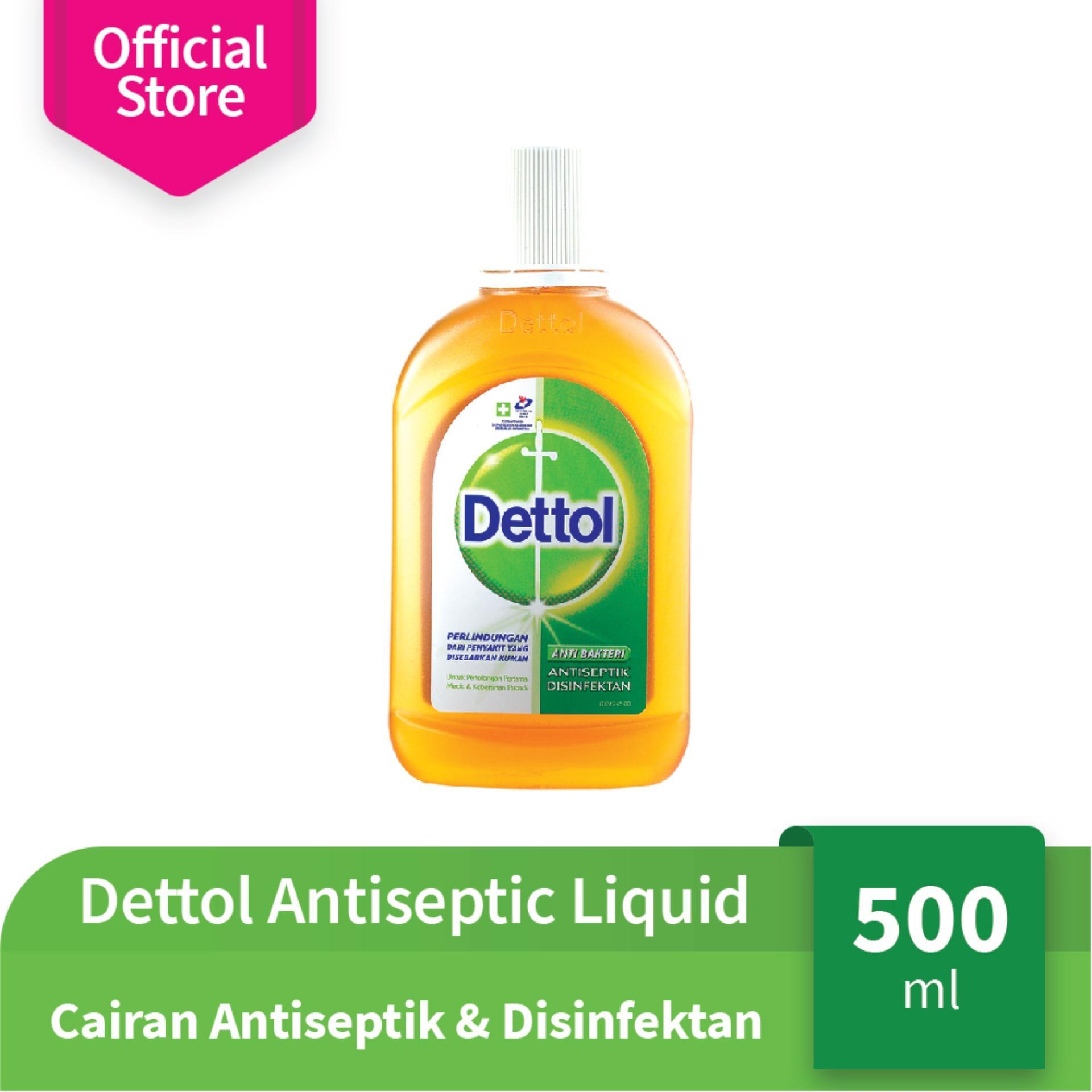 Harga Dettol Antiseptic Liquid Botol 500Ml Cairan Antiseptik Disinfektan Dettol Dki Jakarta
