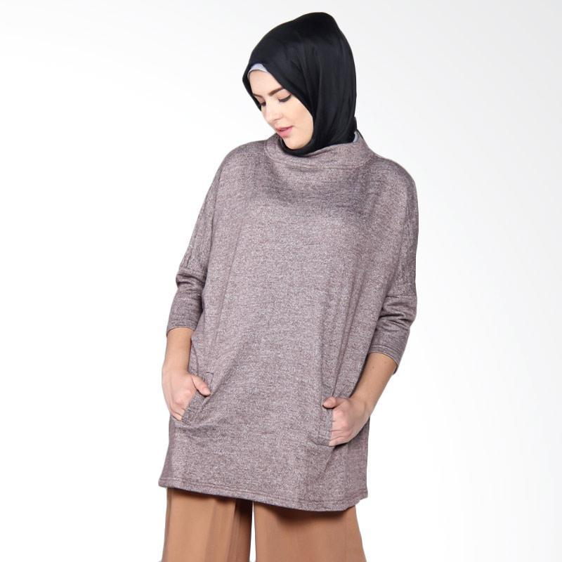 Dauky M Yumna Tunic - Brown
