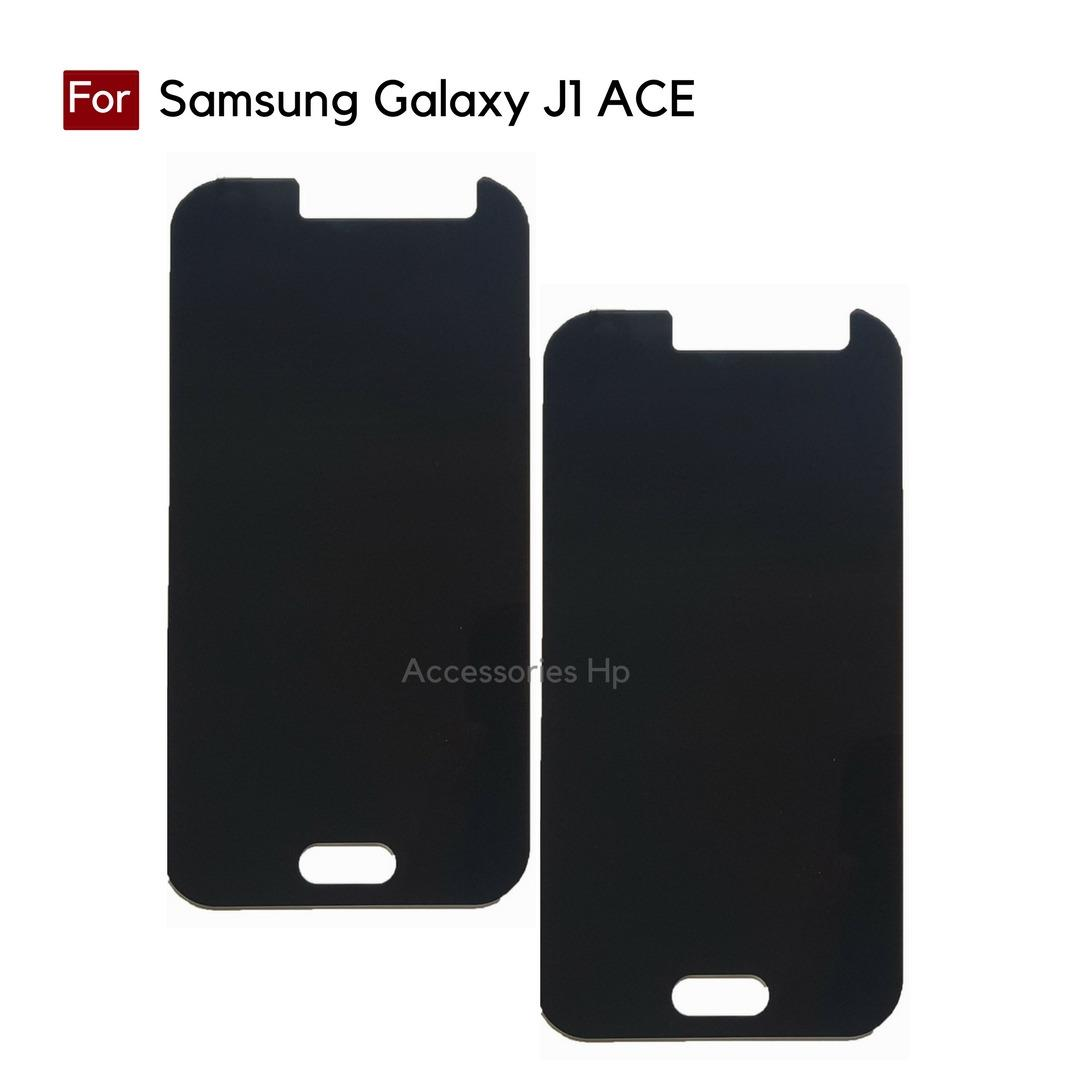Accessories Hp ANTI SPY Tempered Glass Premium Screen Protector Privacy For Samsung Galaxy J1 ACE