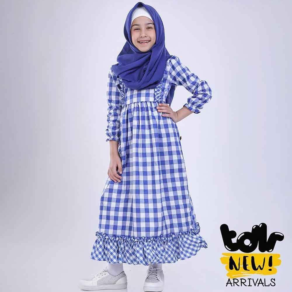 Cek Harga Baru Baju Busana Muslim Gamis Anak Perempuan Cewek