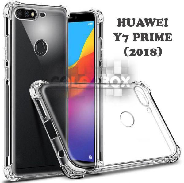 MR Soft Case Anti Crack Huawei Y7 Prime 2018 / Anti Shock Case Huawei Y7 Prime