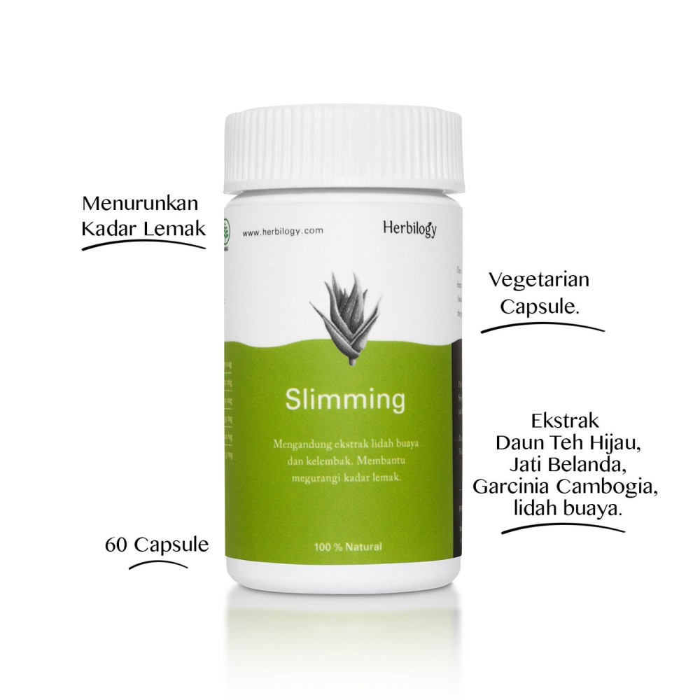 Harga Herbilogy Slimming Capsule Merk Herbilogy