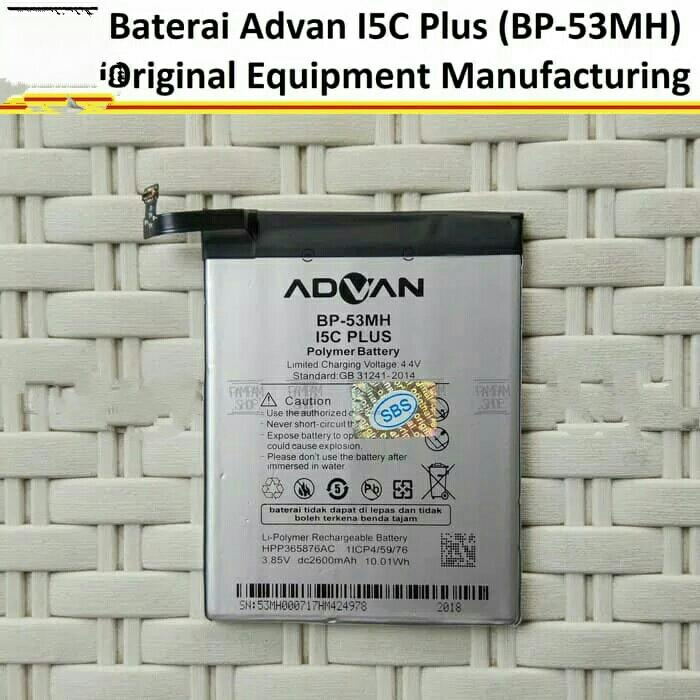Baterai Handphone Advan BP-53MH / Advan i5C Plus