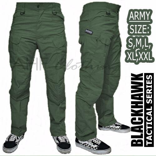 Toko Ahf Celana Panjang Pria Tactical Army Blackhawk Hijau Army Yang Bisa Kredit