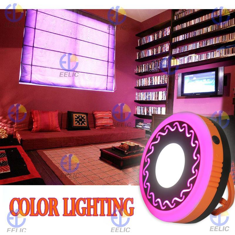 EELIC LAS-8028 LAMPU SENTER LED EMERGENCY RECHARGEABLE FLASHLIGHT COLOR LIGHTING LED LIGHTING LAMPU SENTER