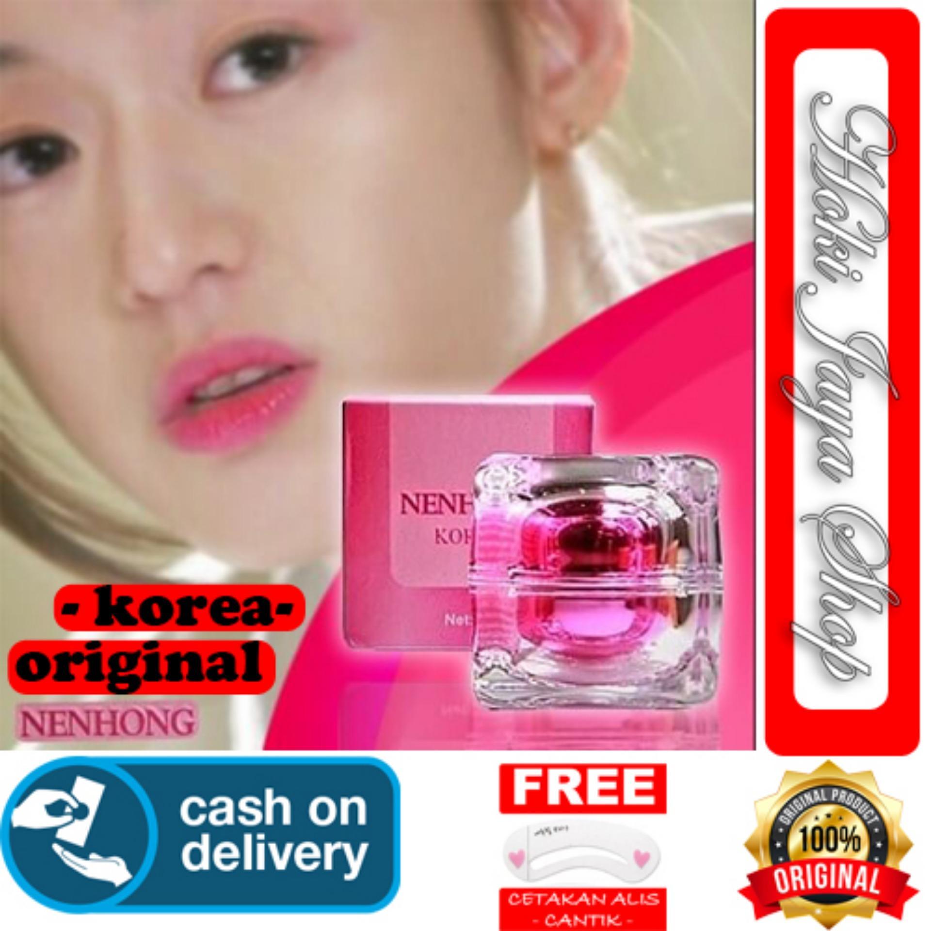 HOKI COD - Nenhong Lip Gloss Pemerah Bibir & Nipple Pink Alami - Nen Hong -