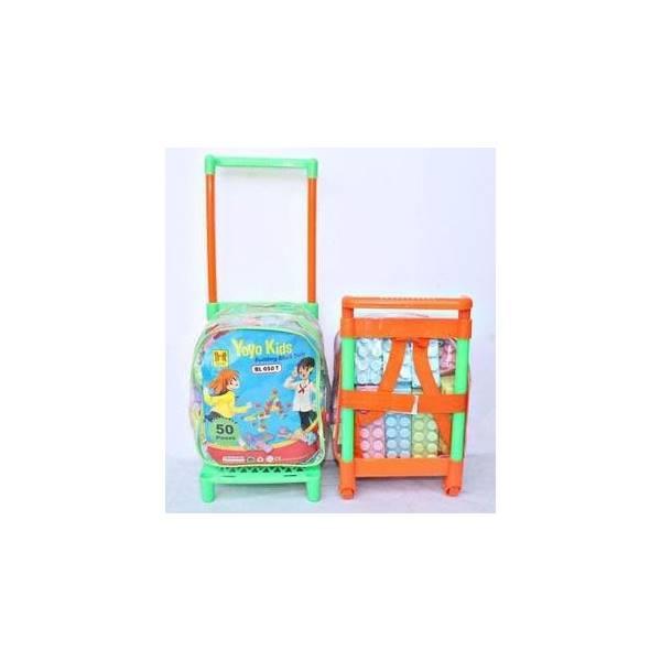 Mainan Anak Block Trolly Isi 50 Pcs - Me1enx