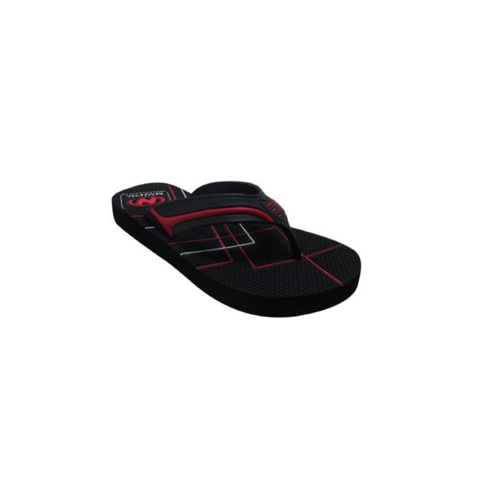 Sendal Jepit / Sandal Jepit Pria New Era Hrv Hitam Merah Size 41 42 - Yqonj3