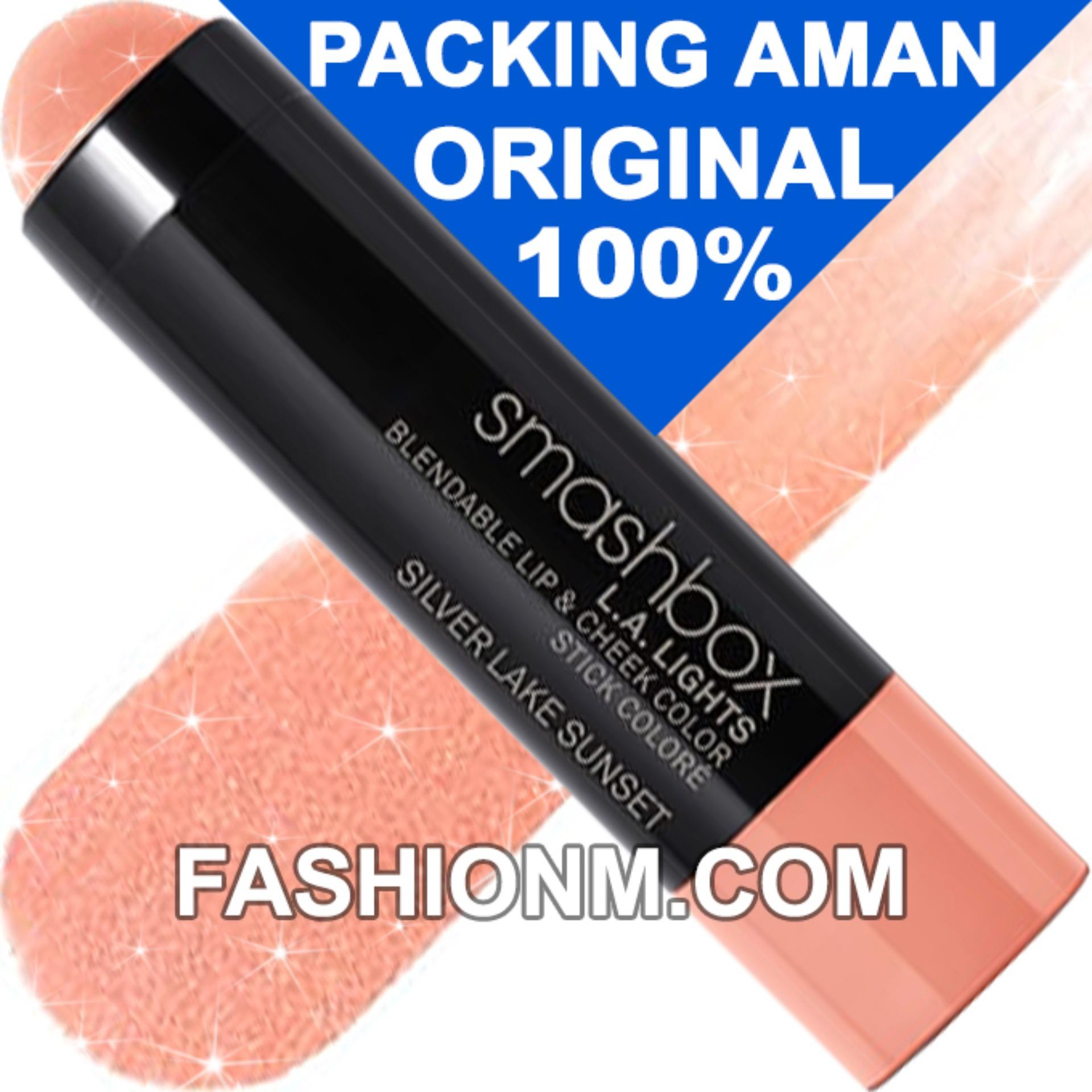 Beli Smashbox L A Lights Lip Cheek Color Silver Lake Sunset Travel Size Pakai Kartu Kredit