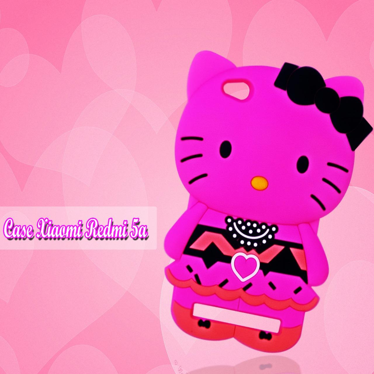 Marintri Case Xiaomi Redmi 5A New Hello Kitty Fashion Pink Panta