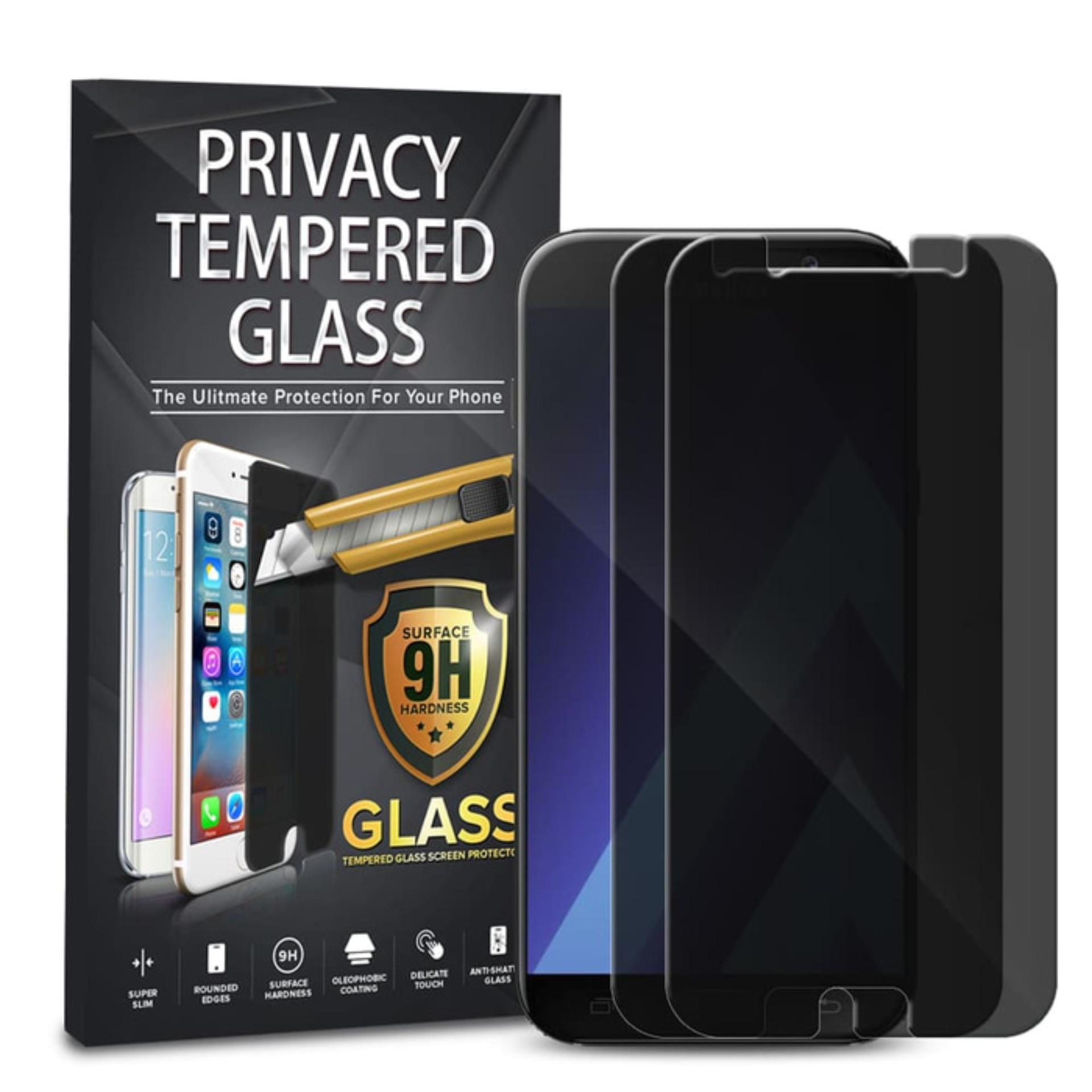 Tempered Glass Anti Spy Samsung Galaxy A5 2017 / A520 - Black