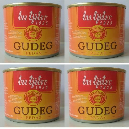 Review Gudeg Kaleng Bu Tjitro Pedas Paket Hemat Gudeg Bu Tjitro Jogja